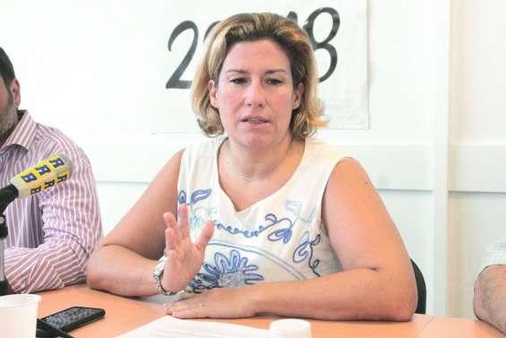 Sonia Backès satisfaite du Comité