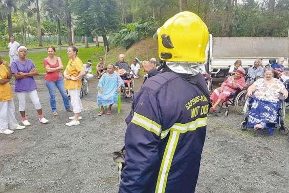 La maison de retraite évacuée en moins de cinq minutes