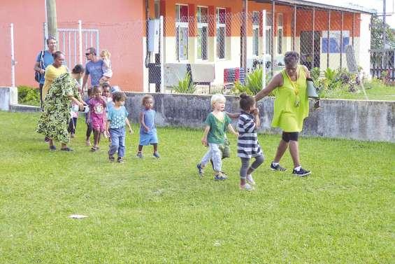 Exercice tsunami réussi dans les écoles de Traput et de Jozip