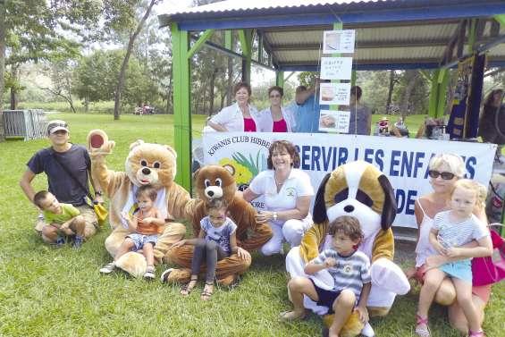 Les Teddy-bear du Kiwanis font le bonheur des enfants