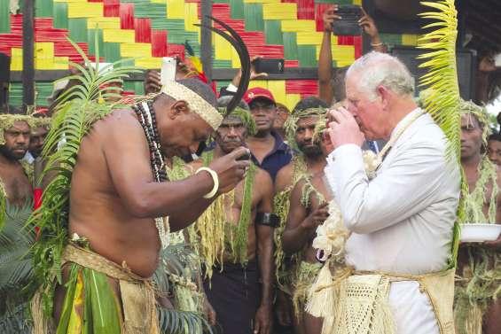 Visite princière au Vanuatu