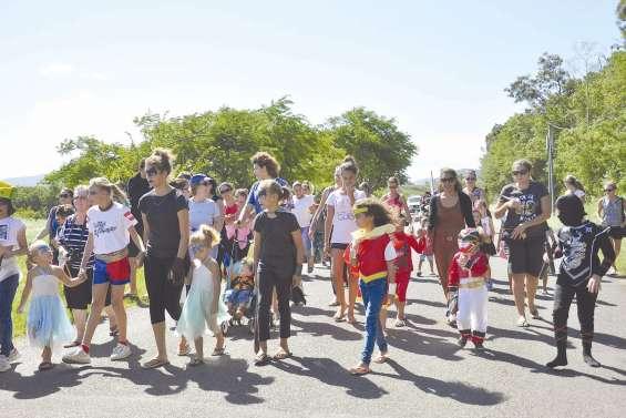 Les supers-héros ont fait leur carnaval