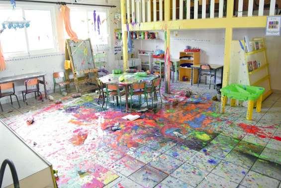 L'école de Saint-Michel saccagée