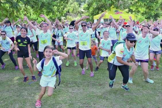 450 coureuses sur les traces  des infirmières américaines