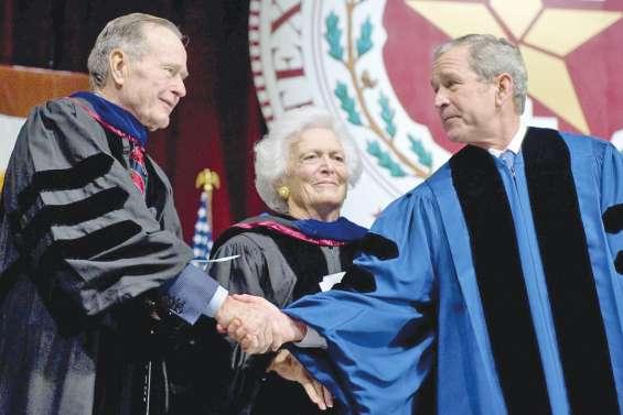 Barbara, mère et femme de présidents, est décédée