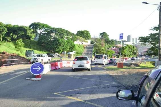 La circulation se complique  encore à la Montagne-Coupée