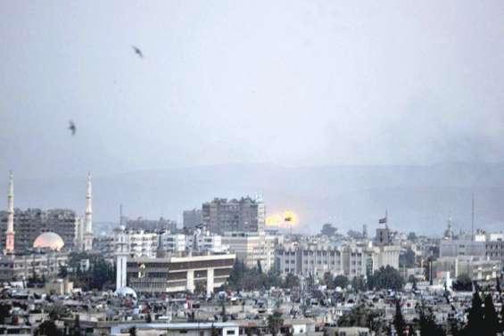 Le régime bombarde les bastions jihadistes