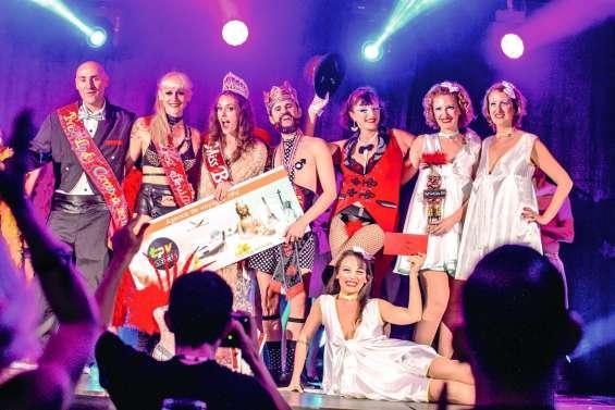 Soirée d'élections salle Vénézia pour le 5e Festival burlesque
