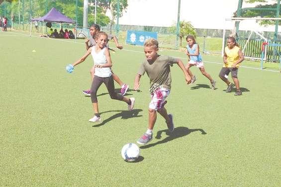 Le ballon rond à l'honneur du programme Sport action