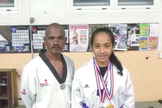 Séréna est rentrée avec deux médailles d'or