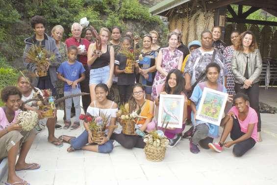 Des collégiens de Bourail  aux célébrations d'Ouvéa