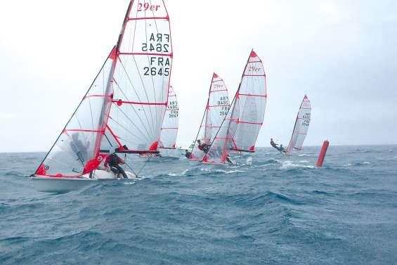 Les jeunes marins en 29er progressent à vue d'œil
