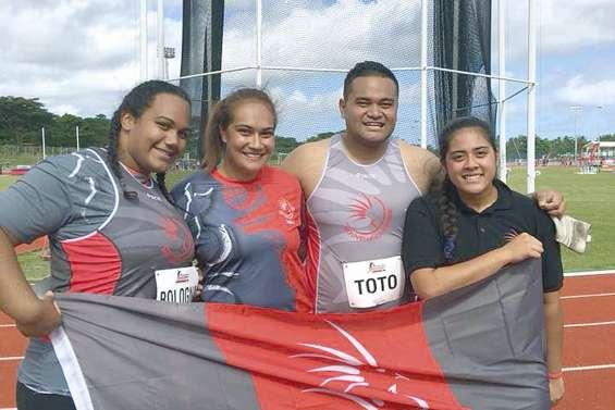 Six médailles pour le premier jour au Vanuatu