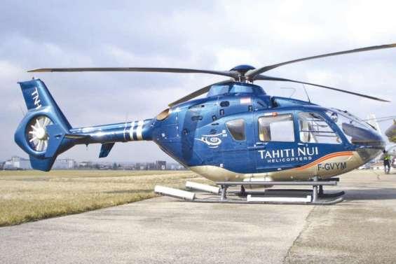 Tahiti dispose d'un nouvel hélicoptère pour les Evasan