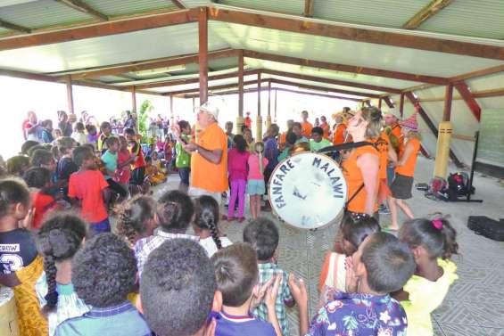 La fanfare Malawi a animé Lifou