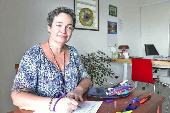Stéphanie Devic, la thérapeute de l'écrit