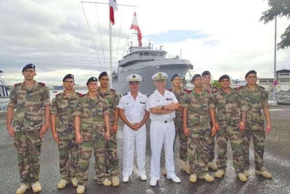 Des fusiliers marins formés à Tahiti
