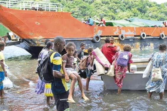 La population d'Ambaé incitée à partir pour de bon