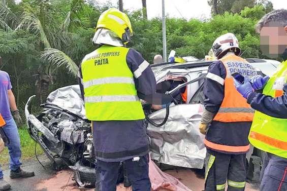 Un choc frontal fait trois morts à La Tamoa