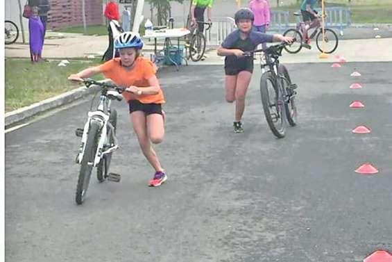 Un triathlon ludique  destiné aux plus jeunes