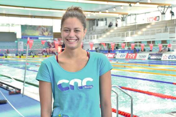 « Je n'ai plus d'objectifs internationaux,  je nage pour mon Université »