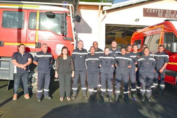 Le sapeur-pompier Régis Kirsch prend du galon
