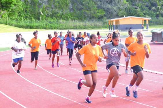 Plus de 350 enfants  dans les starting-blocks