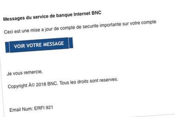 Des pirates informatiques se font passer pour la BNC