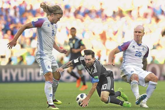 L'Argentine trébuche devant l'Islande !