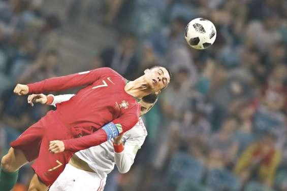 Ronaldo frustre l'Espagne