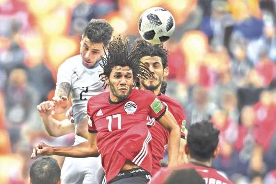 L'Uruguay bat l'Egypte d'une courte tête