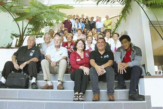 Les clubs Kiwanis de toute la Calédonie réunis à Koutio