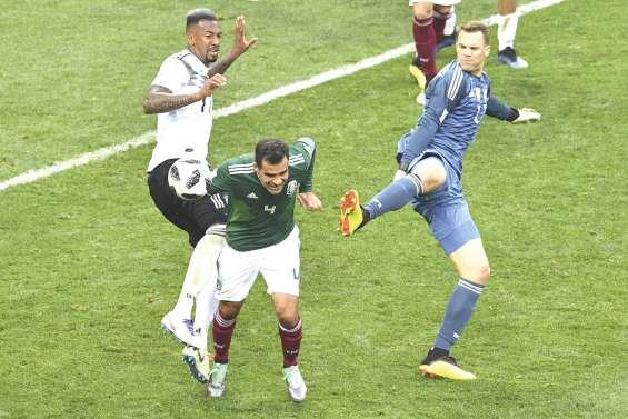 L'Allemagne se fait surprendre par le Mexique