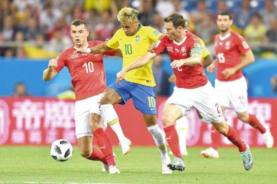 Le Brésil tenu  en échec par la Nati