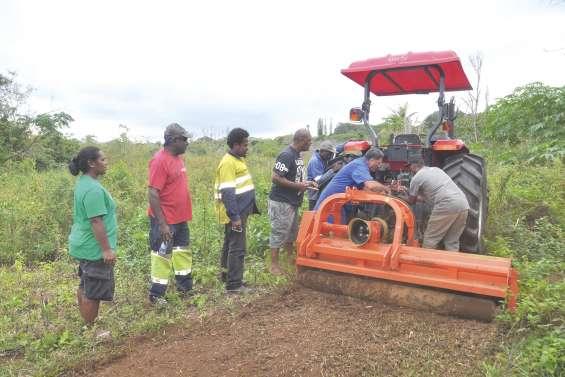 Une nouvelle formation agricole à Nengoné