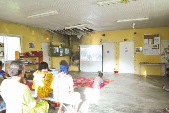 Un apprentissage  au numérique à Gohapin