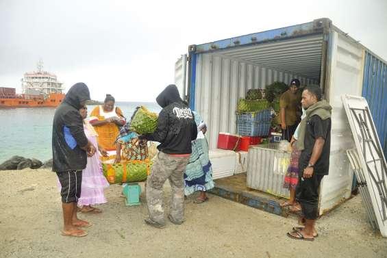 Le grand marché de Maré  fait son retour sur le quai Ferry