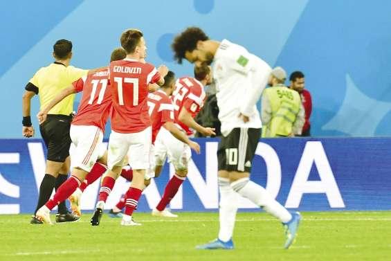 La Russie écrase Salah et entrevoit les huitièmes de finale