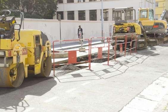 Des travaux sur le réseau d'eaux pluviales rue de Sébastopol