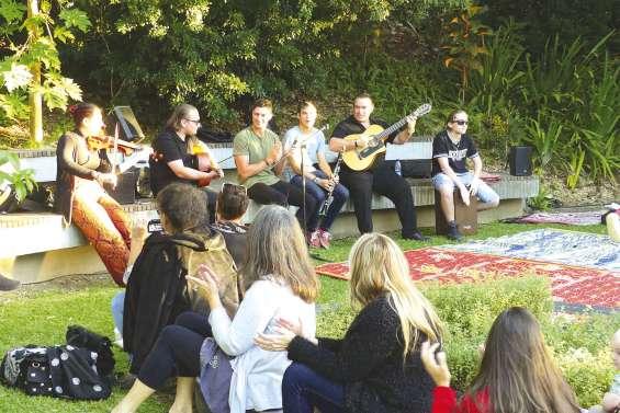 Concerts champêtres et bucoliques au château Hagen