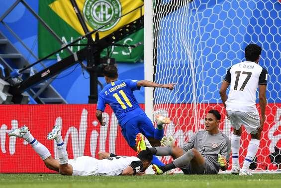Coutinho sort le Brésil du piège costaricain