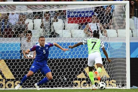 Le Nigeria se relance contre l'Islande