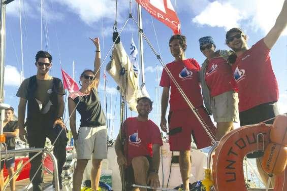 Groupama Race : deux derniers navires à quai