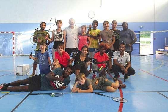 Semaine intensive sur les terrains de badminton