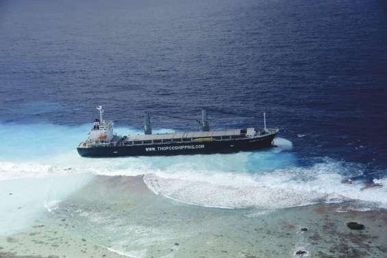 Cargo échoué : un remorqueur américain appelé à la rescousse