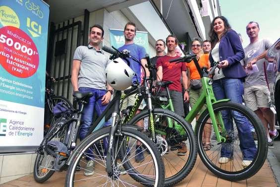 50 000 francs de remise sur l'achat d'un vélo électrique