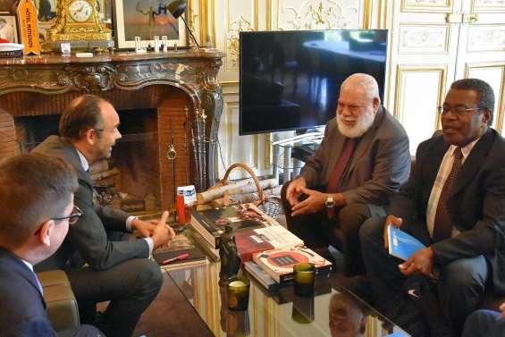 Paul Néaoutyine plaide pour une « information objective » auprès d'Edouard Philippe