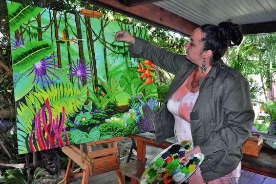 Francesca El Menaouer : « Je ne savais même pas que je savais peindre »