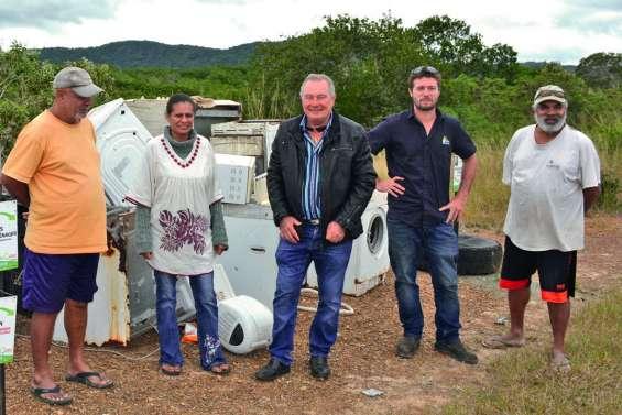 Les communes du Sud se débarrassent de leurs déchets encombrants
