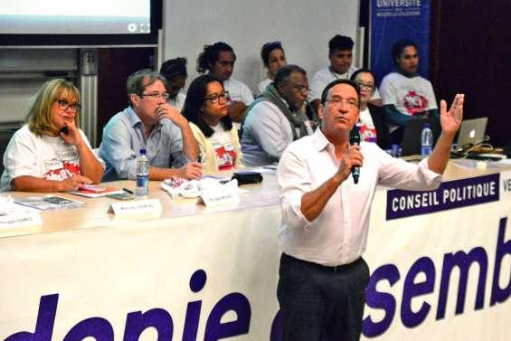 Calédonie ensemble défend la voie du dialogue